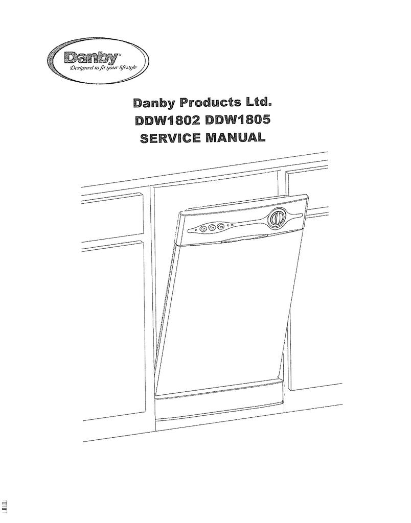 Danby Dishwasher Wiring Diagram | Wiring Liry on