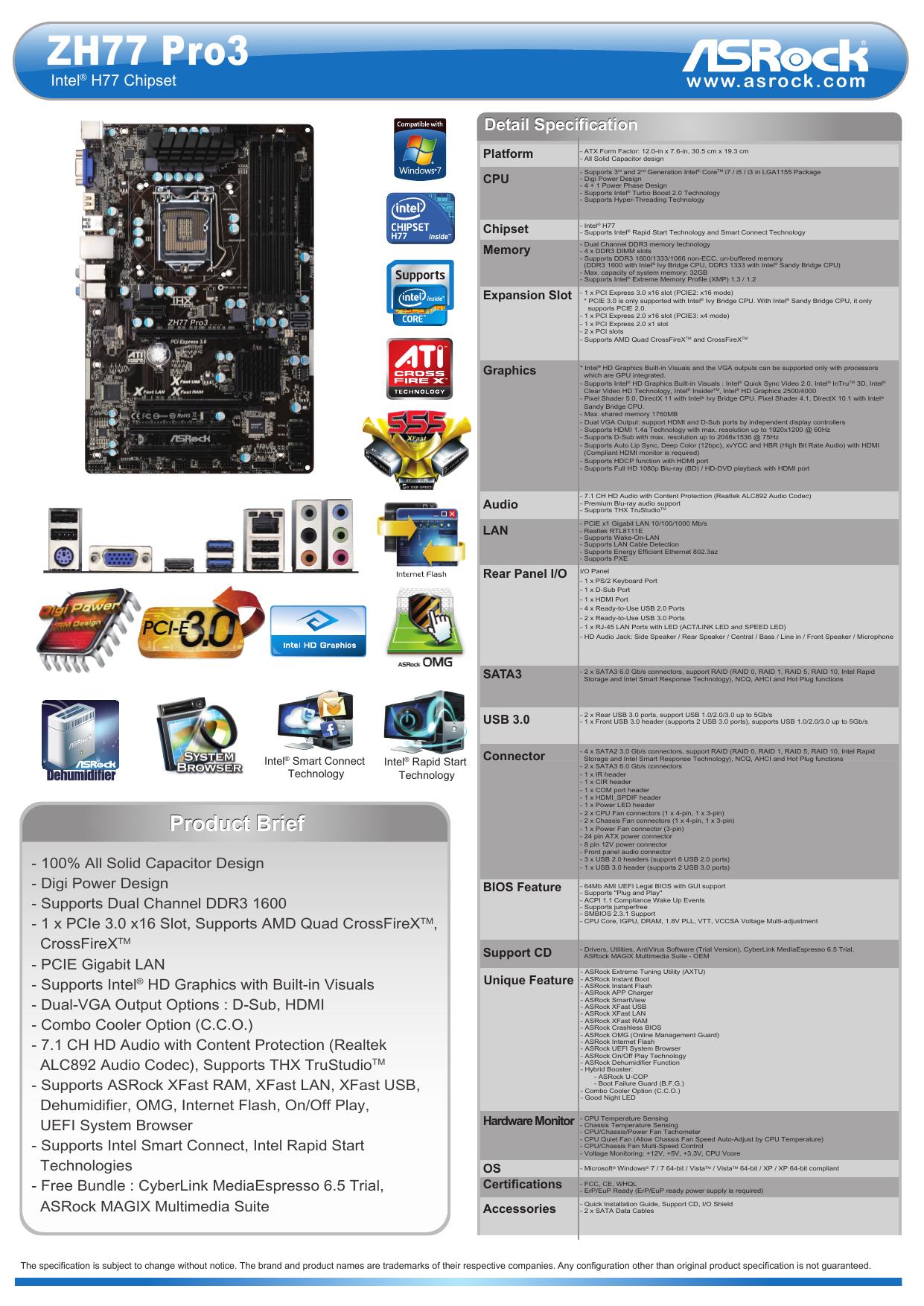 Asrock H67DE3 Intel Rapid Storage Driver UPDATE