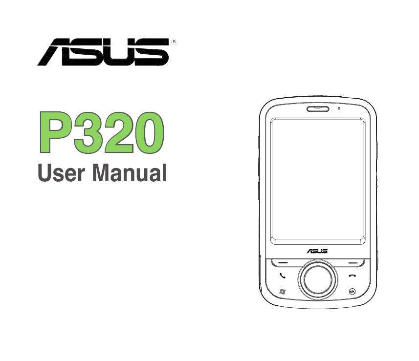 Asus P320 User manual