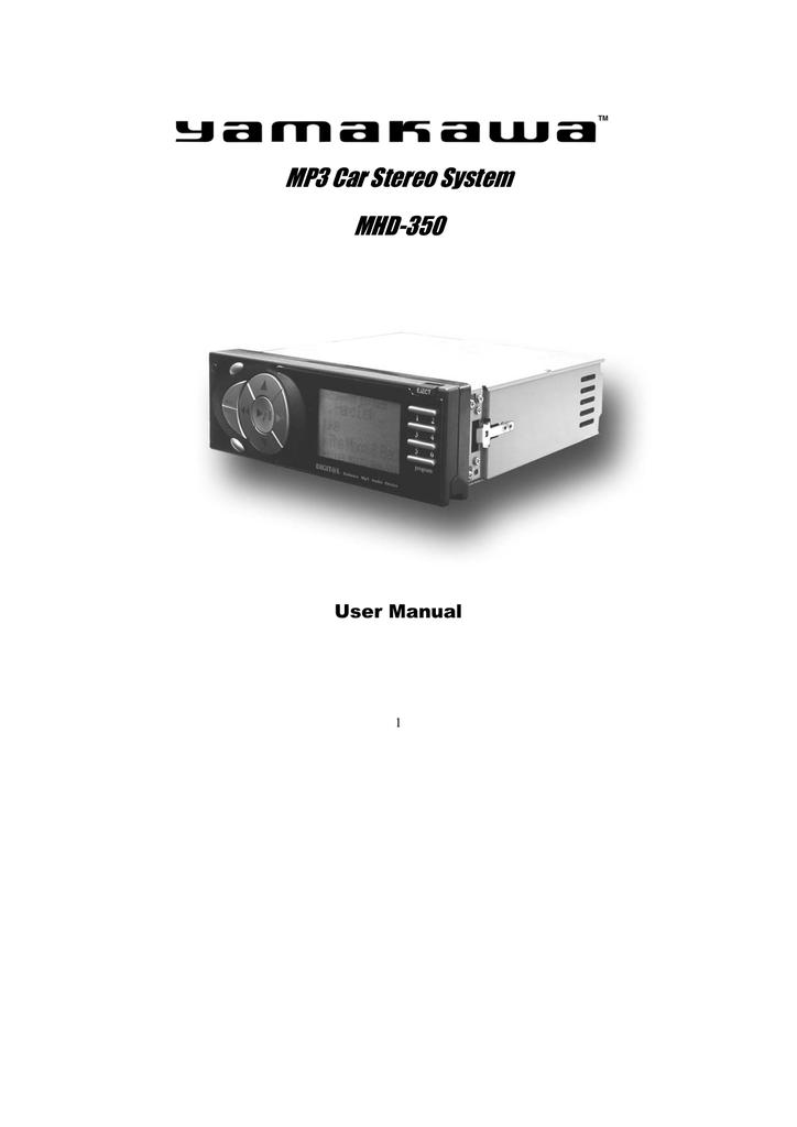 Yamakawa MHD-350 User manual | manualzz com
