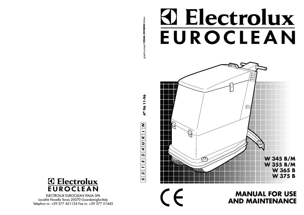electrolux w 355 b m specifications manualzz com rh manualzz com