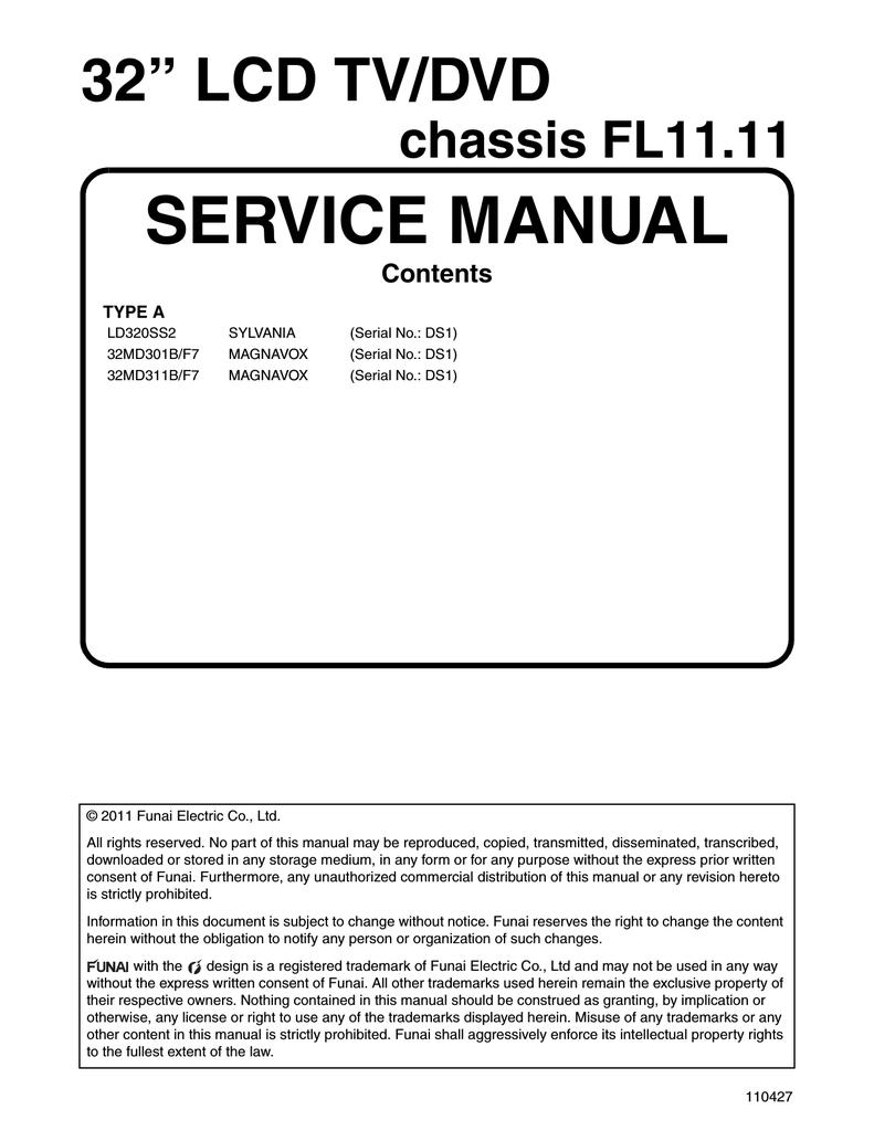 Magnavox 32md311b Service Manual Manualzz