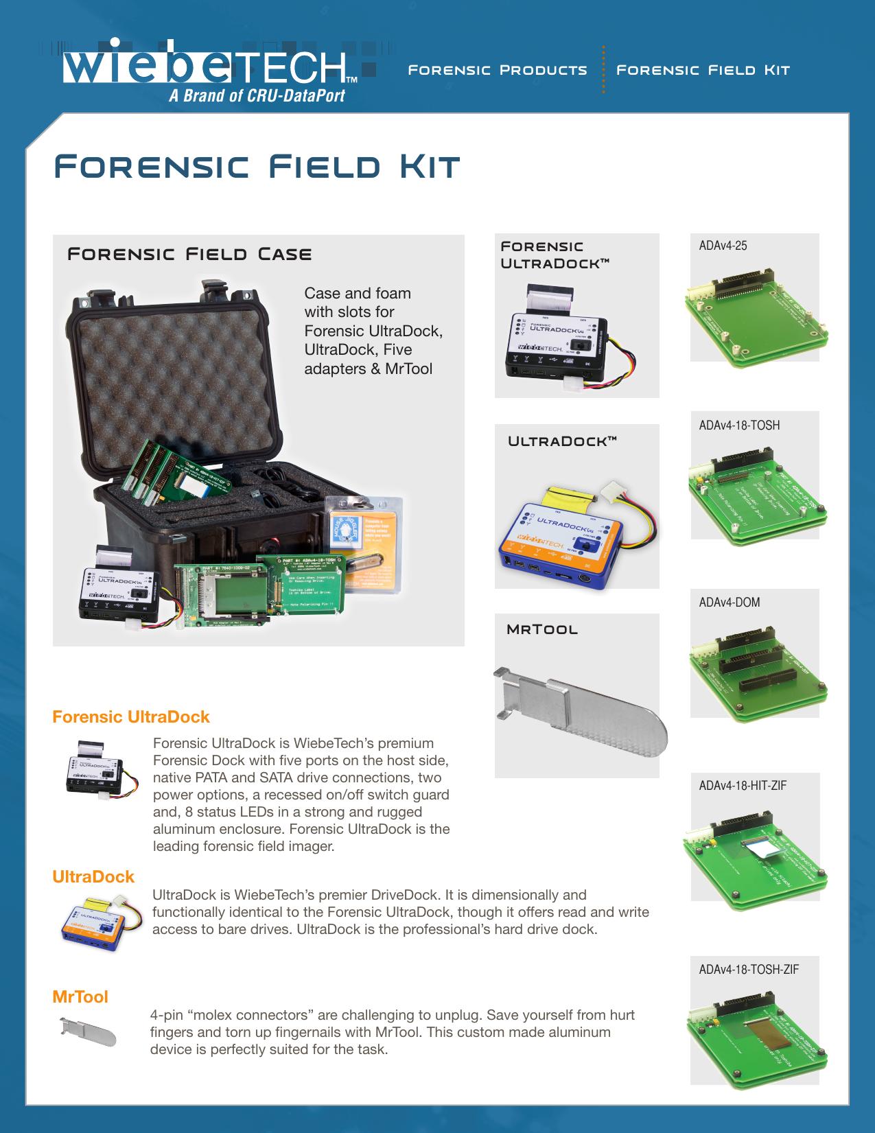 Forensic Field Kit Known As Fastbloc Manualzz