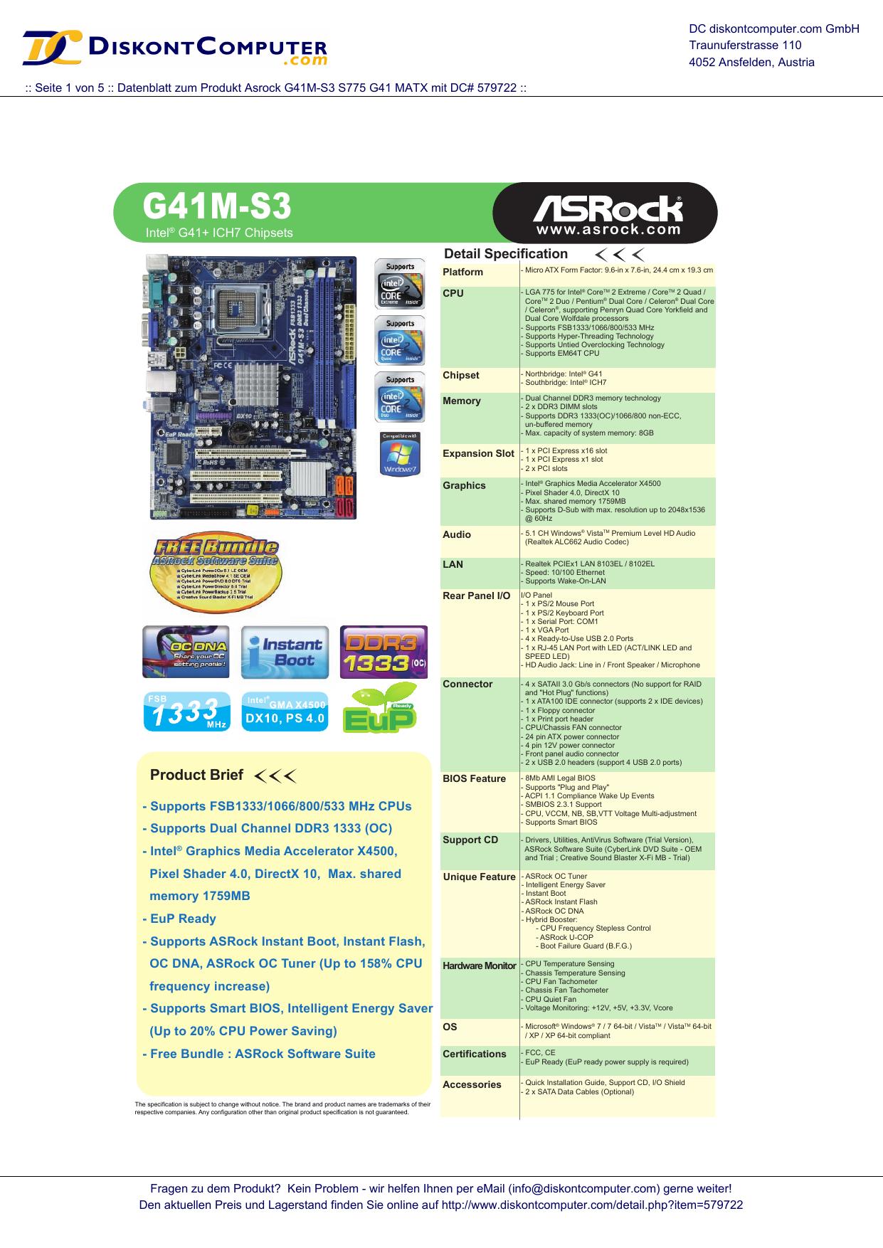 G41M-S3 | manualzz com