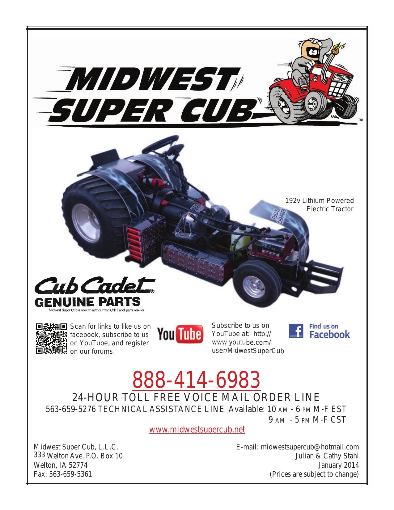 Catalog 2014 indd - Midwest Super Cub | manualzz com