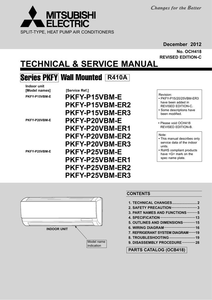 000735019_1 77fc7af58695d09e83583e684d70e103 mitsubishi city multi pkfy p vbm e service manual