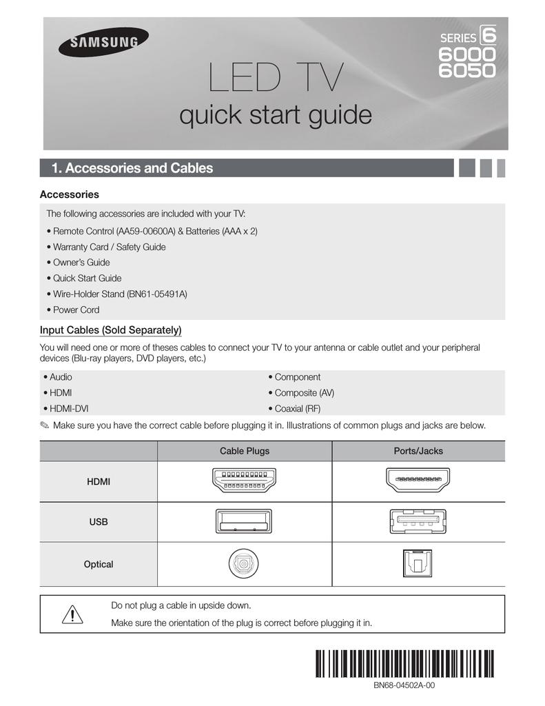 Samsung UN65EH6050 User manual   manualzz com