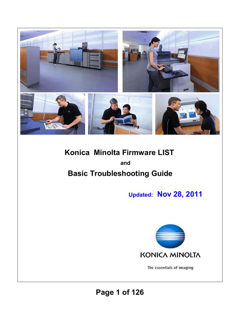 KONICA MINOLTA FIERY X3E CF9001 DRIVER UPDATE