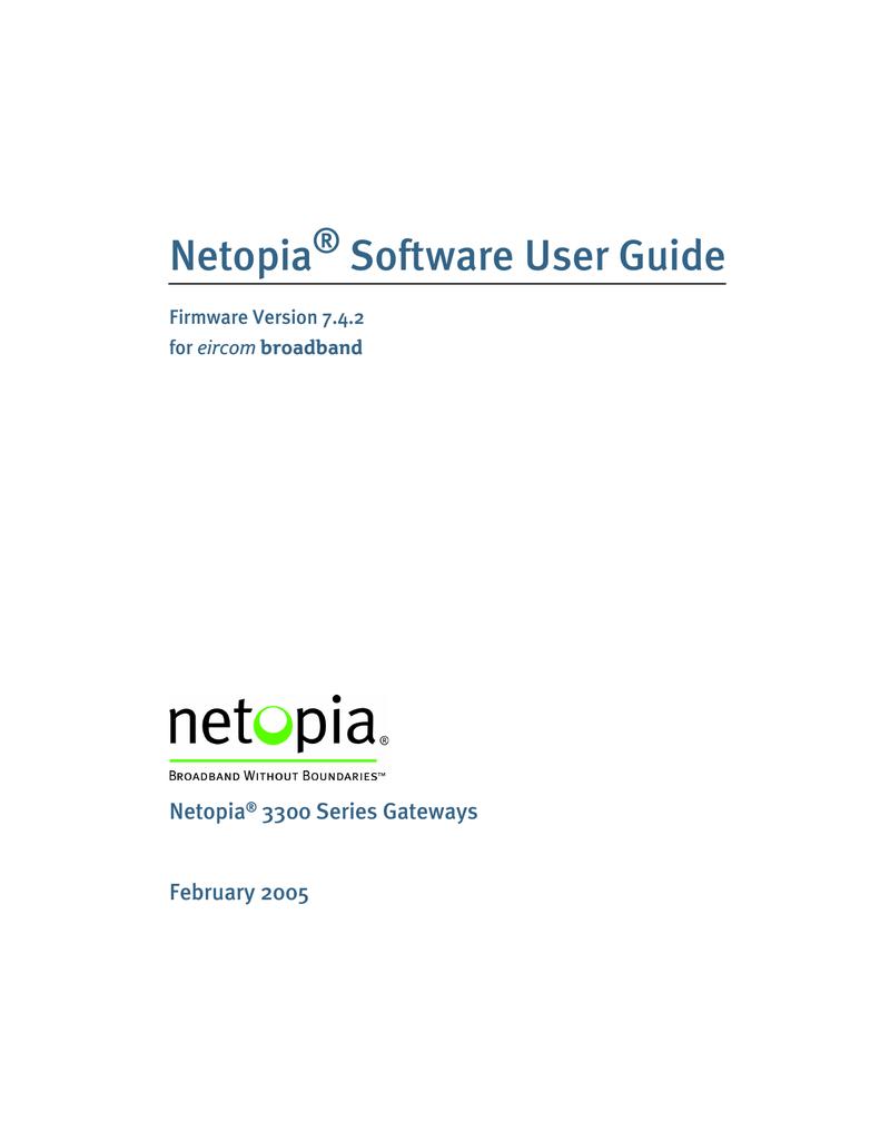 netopia 3300 user guide browse manual guides u2022 rh repairmanualtech today Netopia 4622 Netopia 3347