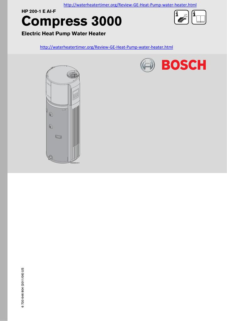 Bosch Hp 200 1 E Al F Specifications Manualzz