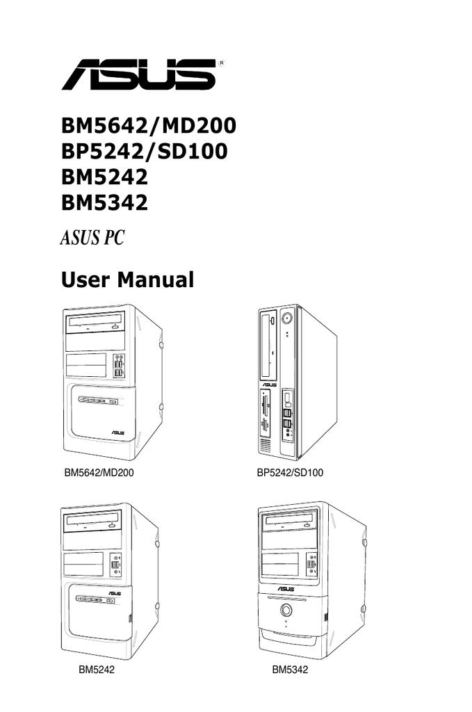 ASUS BM5242 DESKTOP PC WINDOWS 10 DRIVER DOWNLOAD