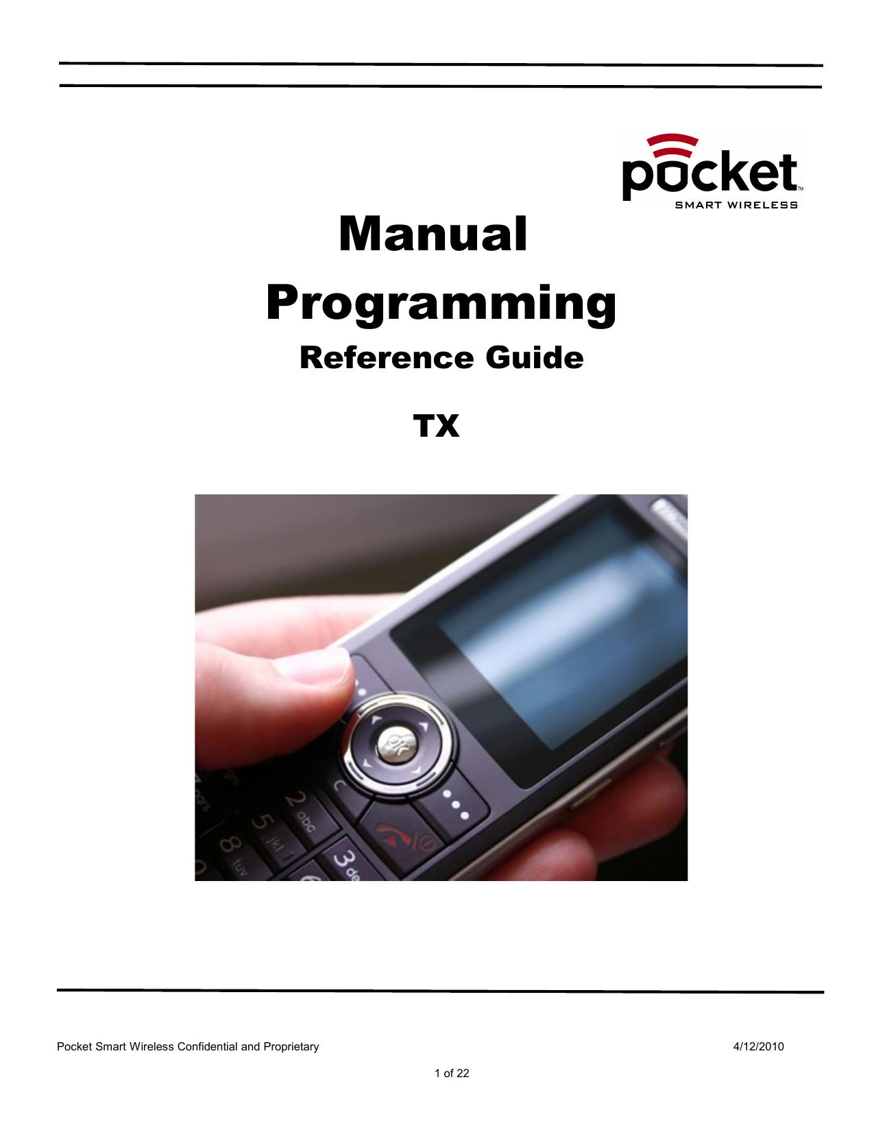 Manual programming | manualzz. Com.