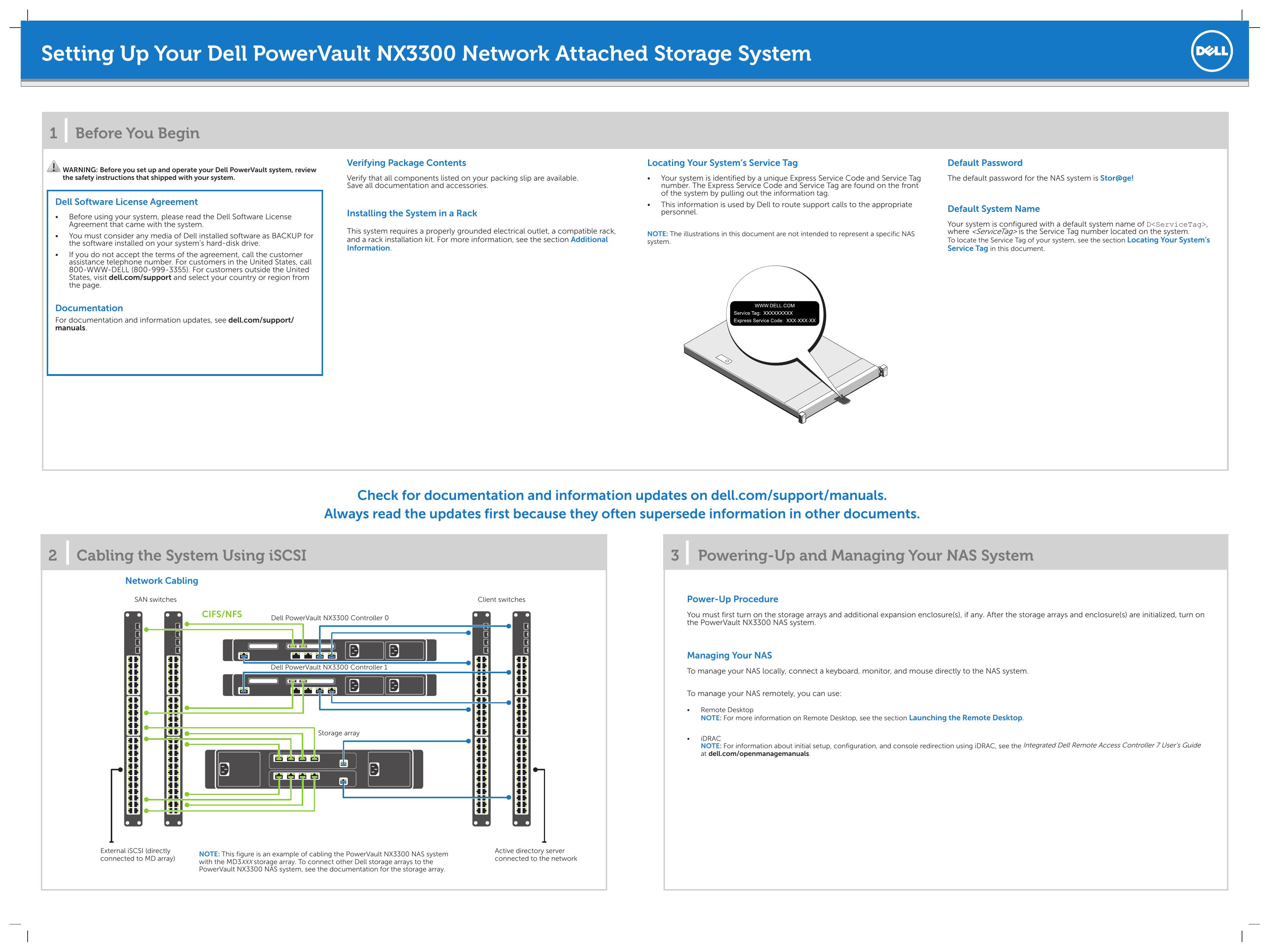 Dell PowerVault NX3300 User`s guide | manualzz com