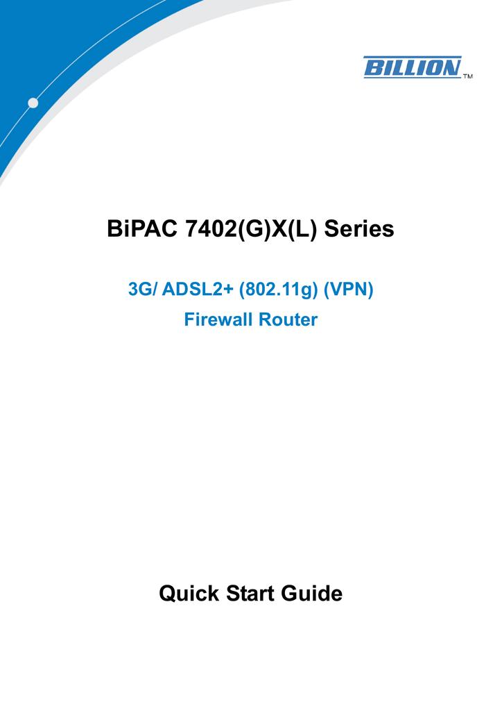 BILLION BIPAC 7402 DRIVER DOWNLOAD