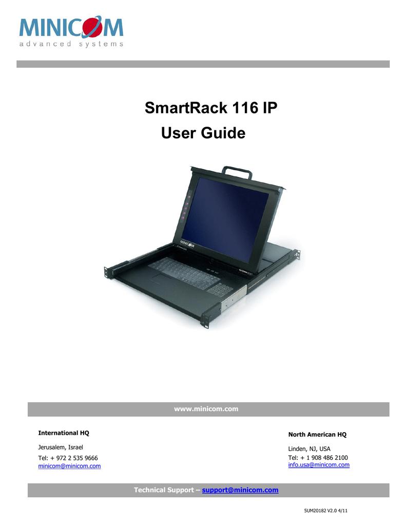 Minicom Advanced Systems SMARTRACK 116 IP User guide