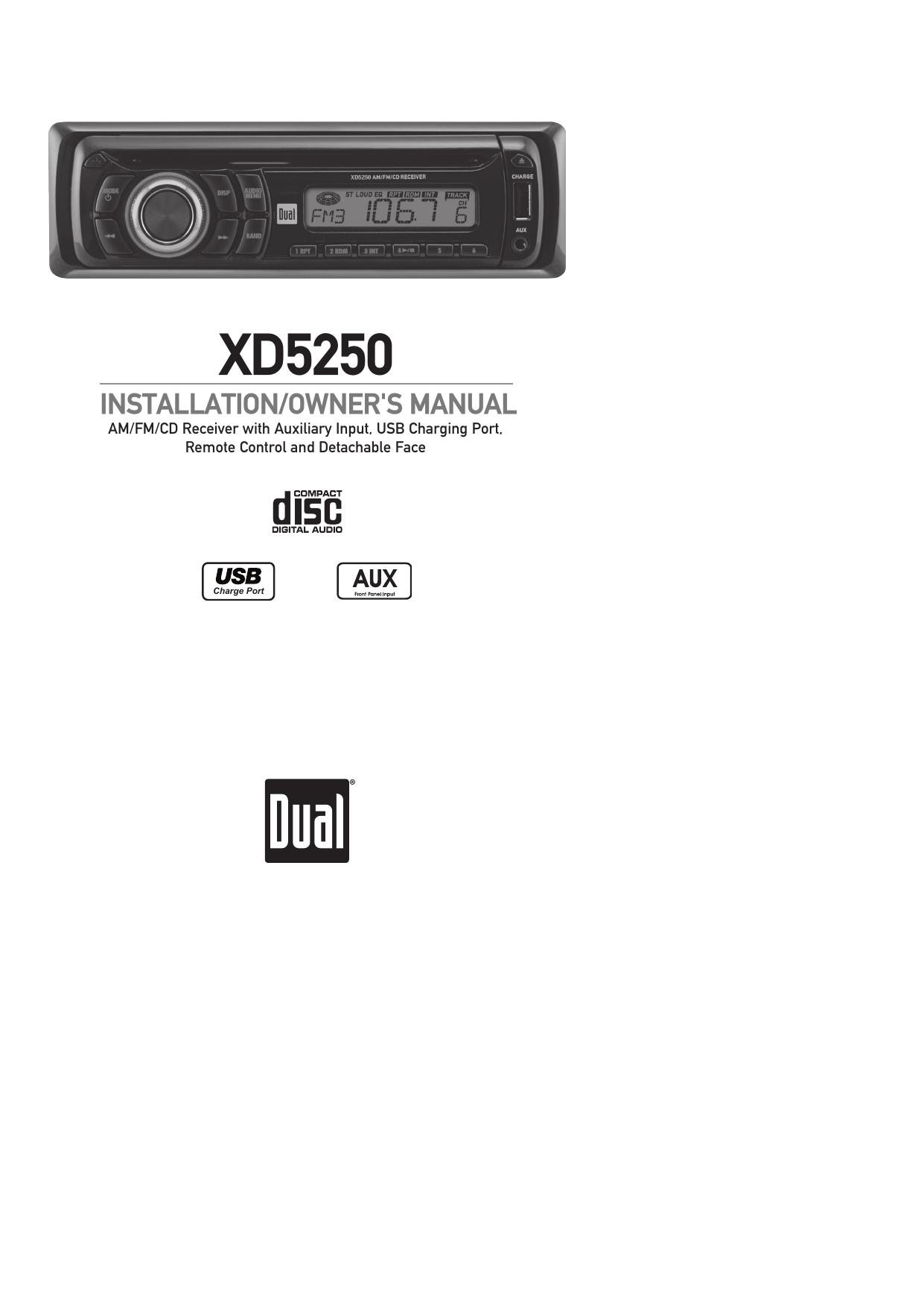 XD5250 - Free Manual Downloads | Manualzzmanualzz