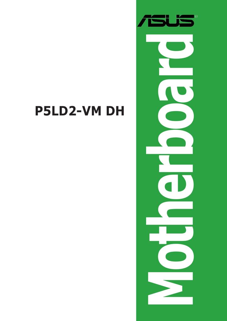 ASUS P5LD2-VM INTEL TEKOA ETHERNET DRIVERS WINDOWS XP