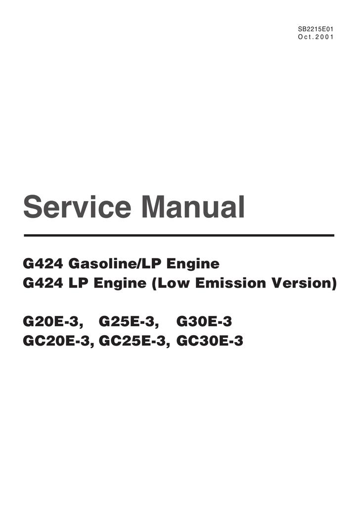 Daewoo G424E Service manual | manualzz.com on