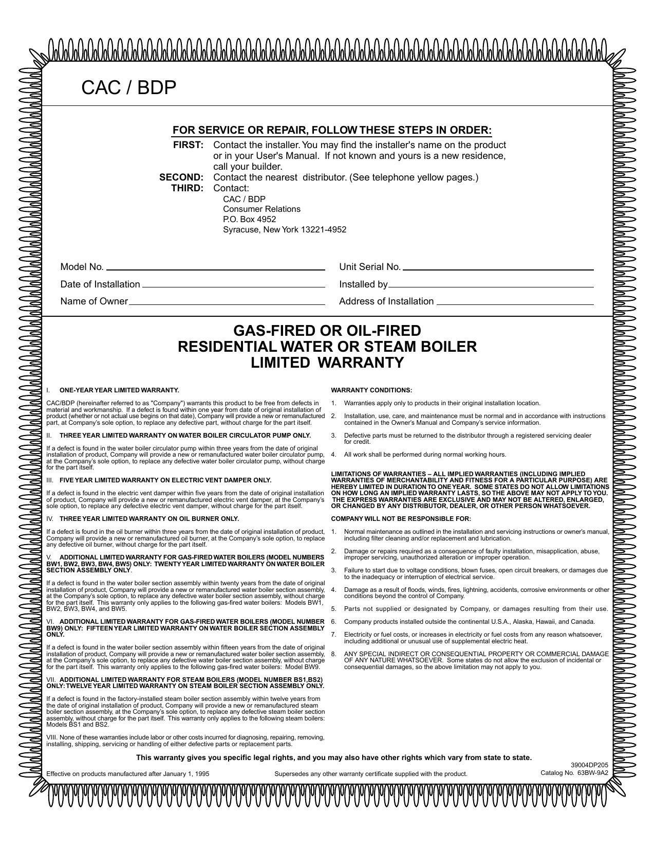 Cac Bdp Hvacpartners Manualzz
