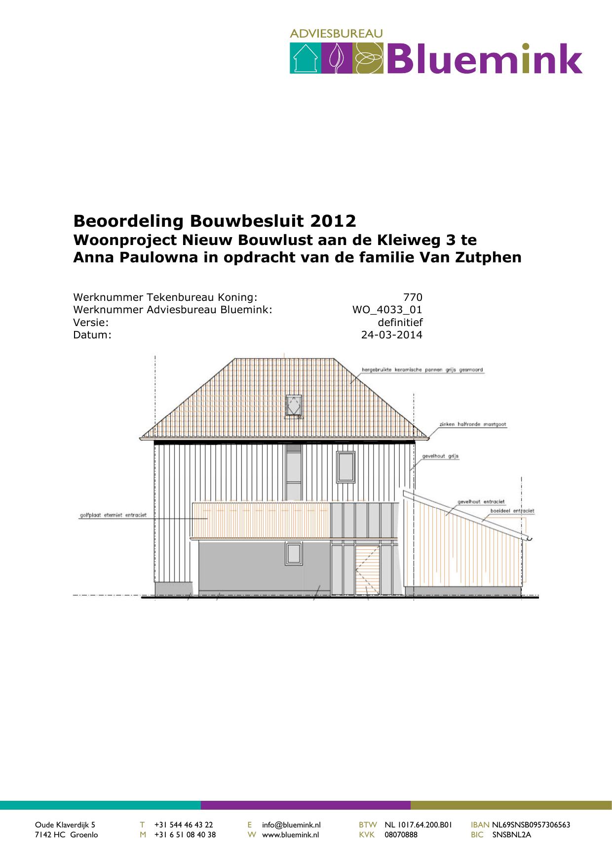 Beoordeling Bouwbesluit 2012 | manualzz.com