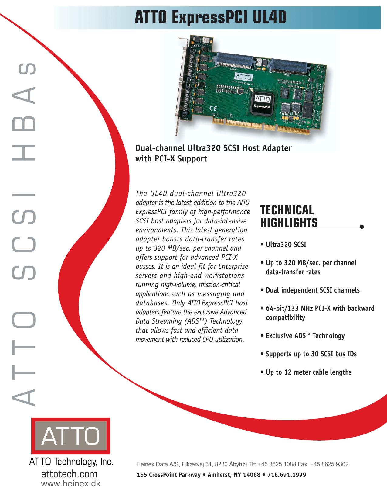 ATTO EXPRESSPCI UL4D SCSI ADAPTER WINDOWS 7 X64 TREIBER
