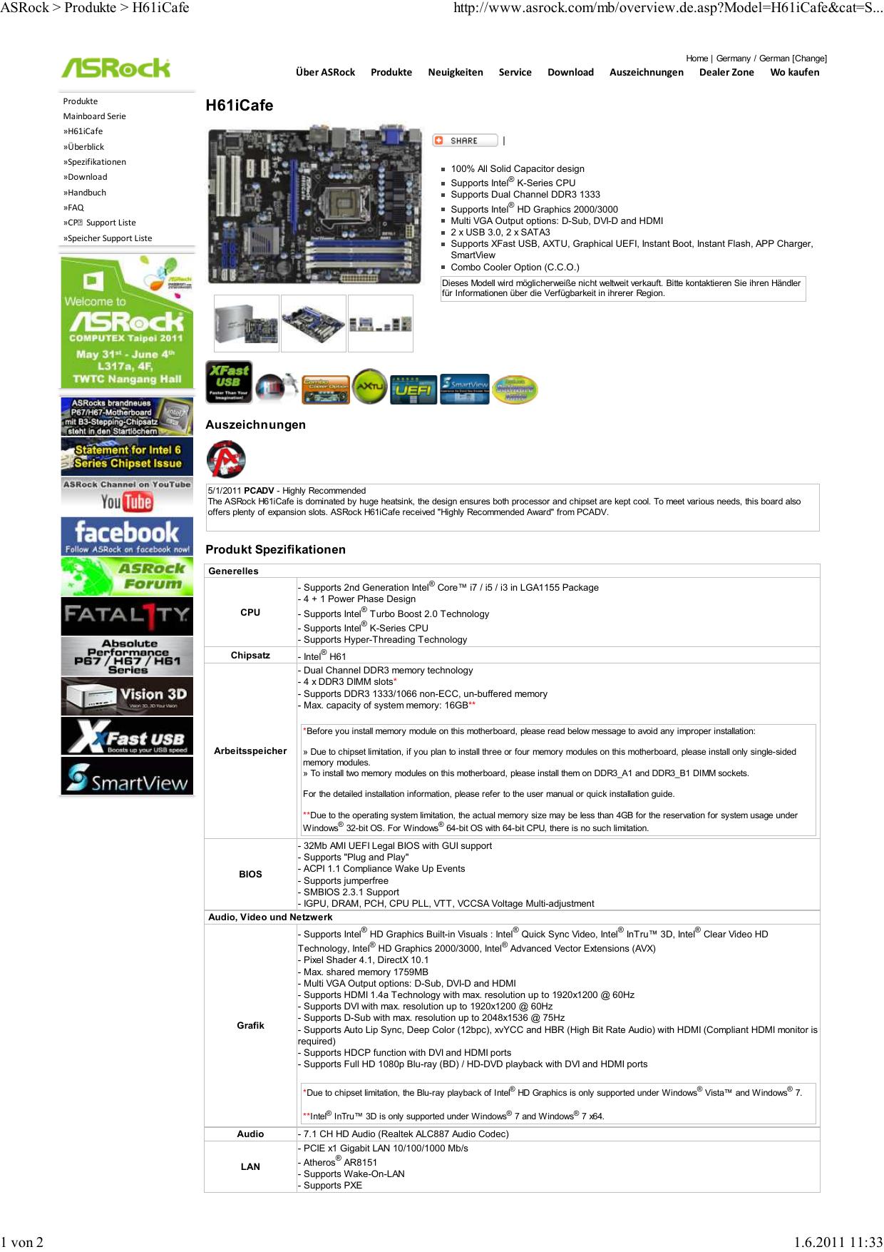 Driver for Asrock 880GMH/USB3 Bios 1.40