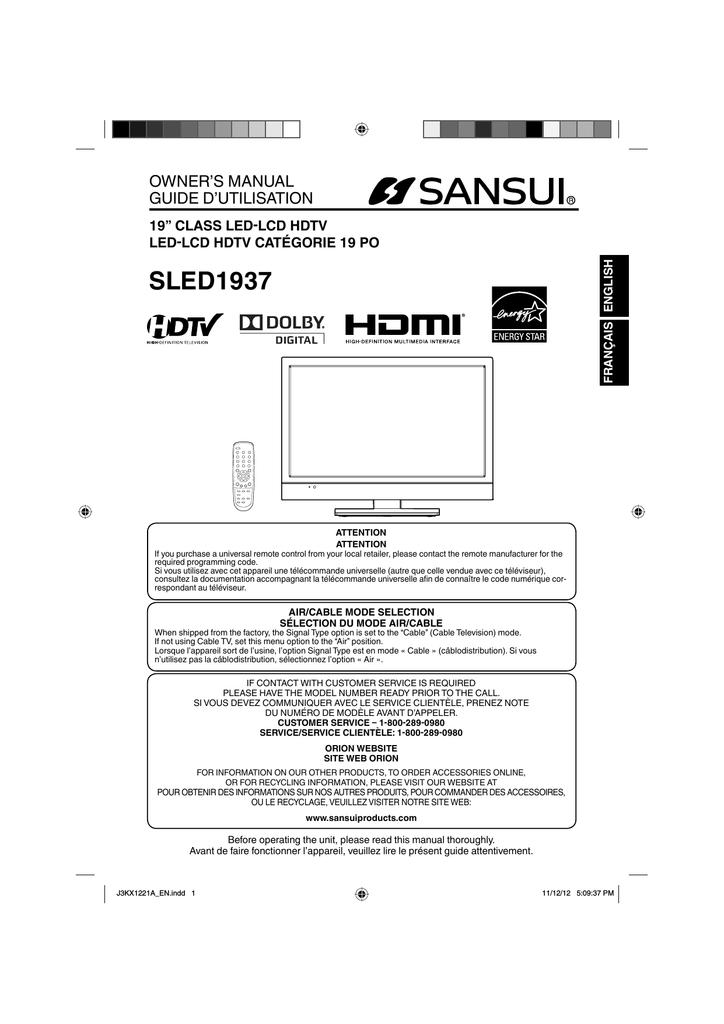 Sansui SLED1937A Owner`s manual   manualzz com