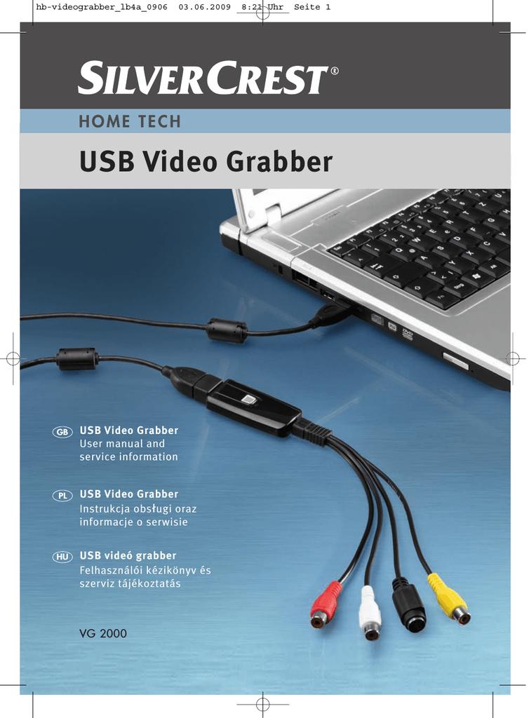 Silvercrest Usb Video Grabber Mac Software
