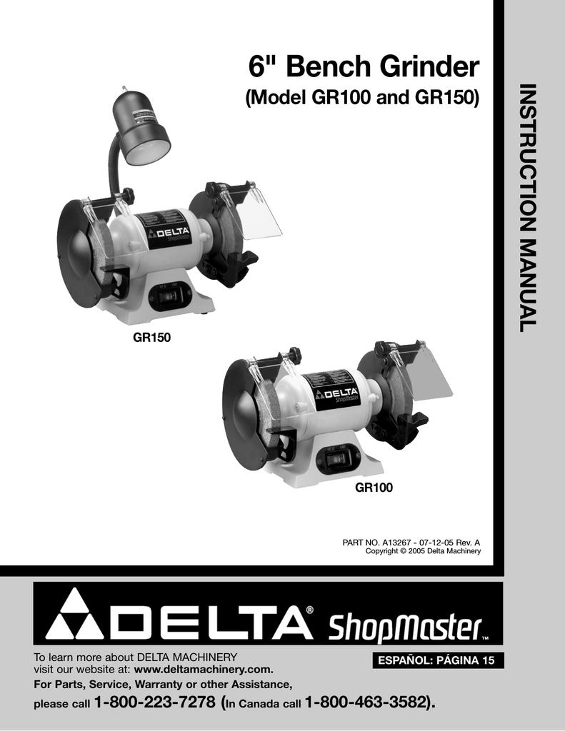 Cool Delta Gr150 Instruction Manual Manualzz Com Lamtechconsult Wood Chair Design Ideas Lamtechconsultcom