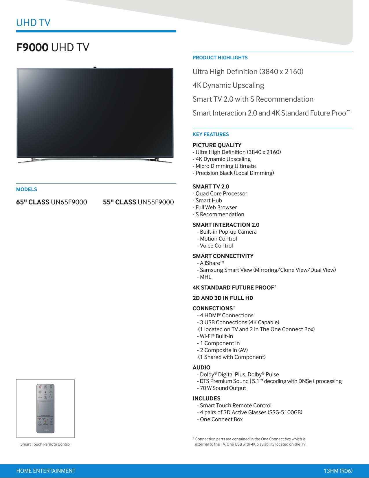 F9000 UHD TV | manualzz com