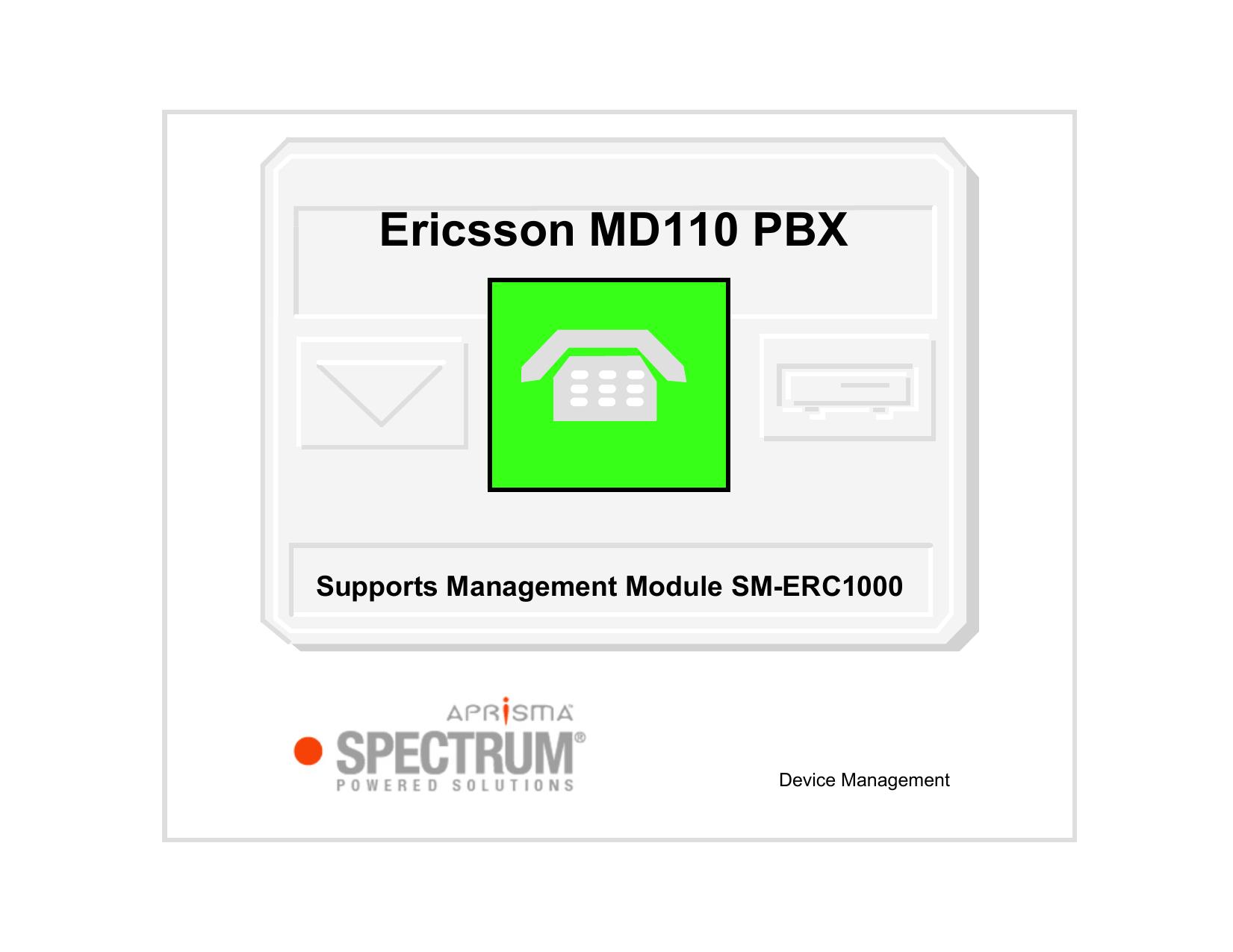 Md110 pbx manual