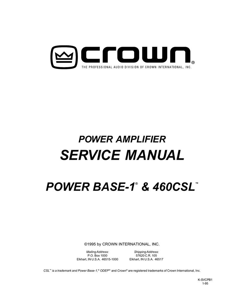 Crown service owner manuals & schematics pdfs on dvd huge.
