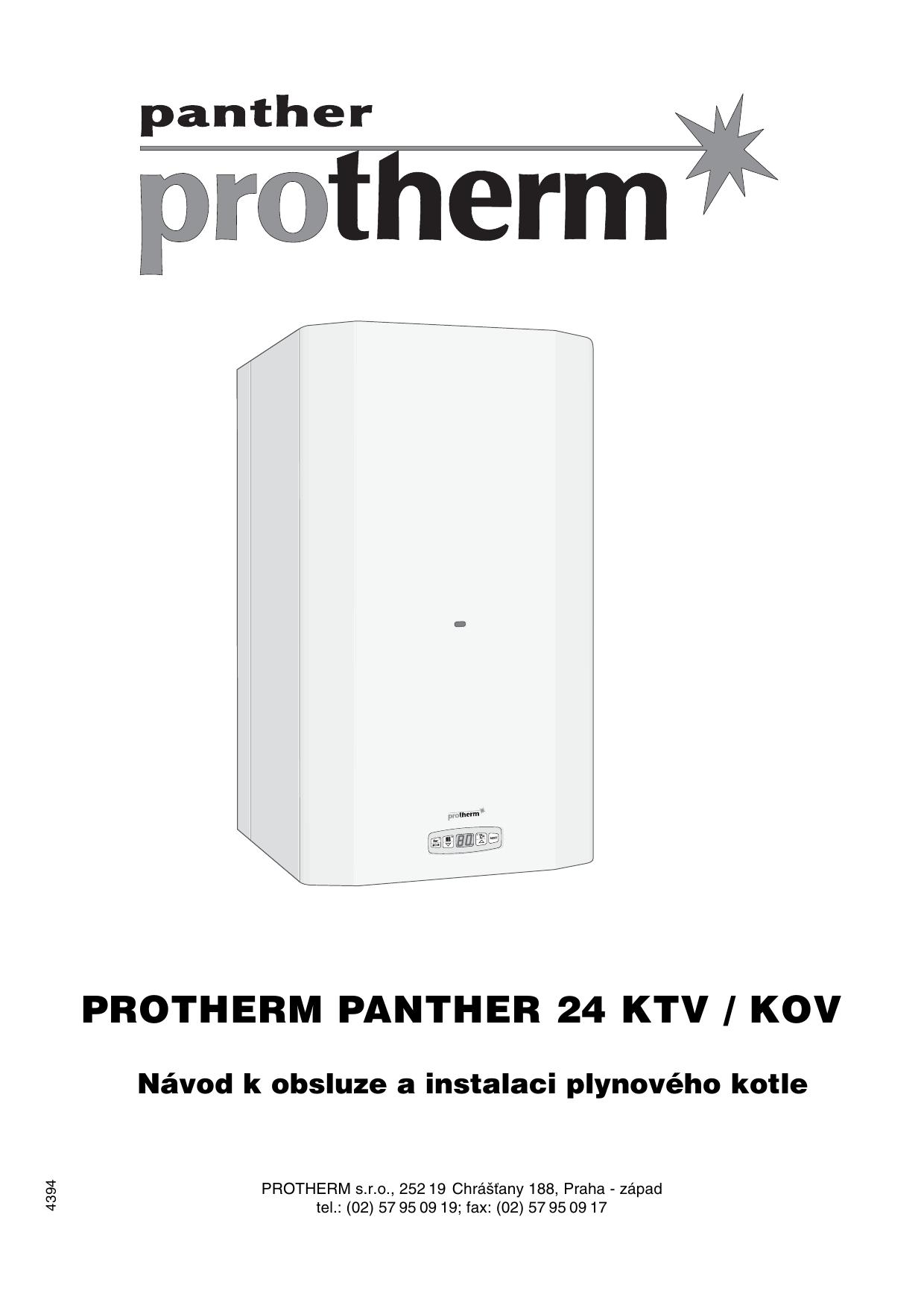 Protherm 24 KOV User manual | Manualzz
