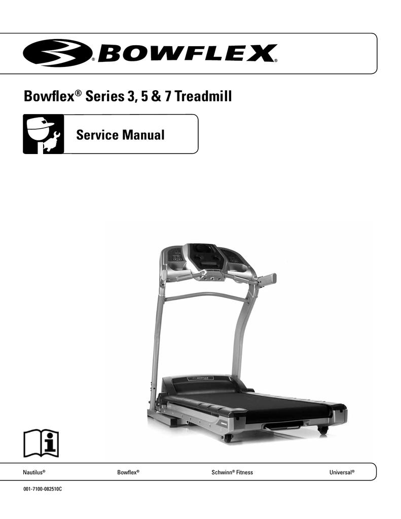 Bowflex 5 series Service manual | manualzz.com on
