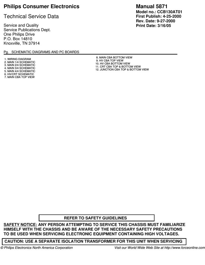 Philips CCB255AT Service manual | manualzz com