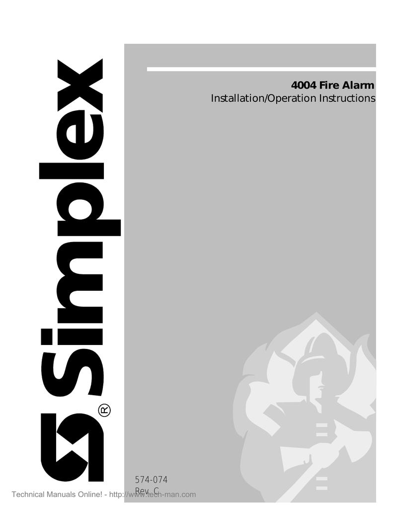 simplex 4004 programming instructions manualzz com rh manualzz com