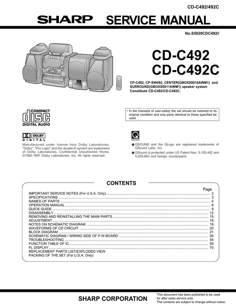 Sharp Cd C492c Service Manual Muting Transistor Attenuator Circuits And The 2sc2878