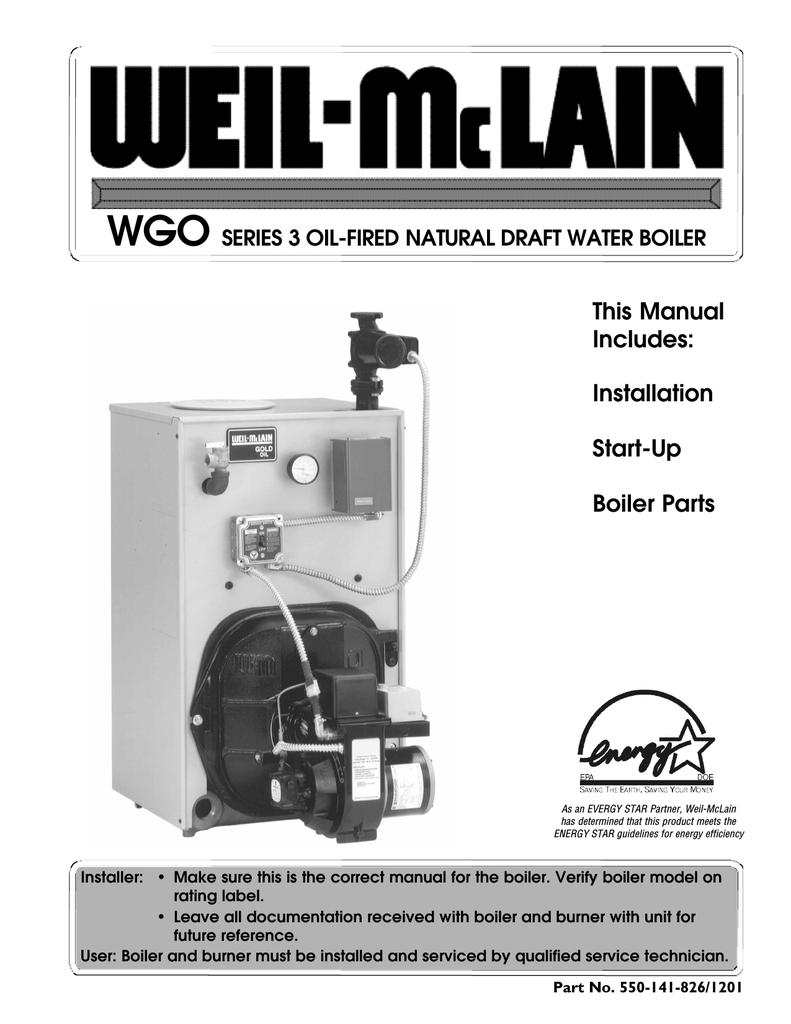 Weil Mclain Wtgo Service Manual Manualzz