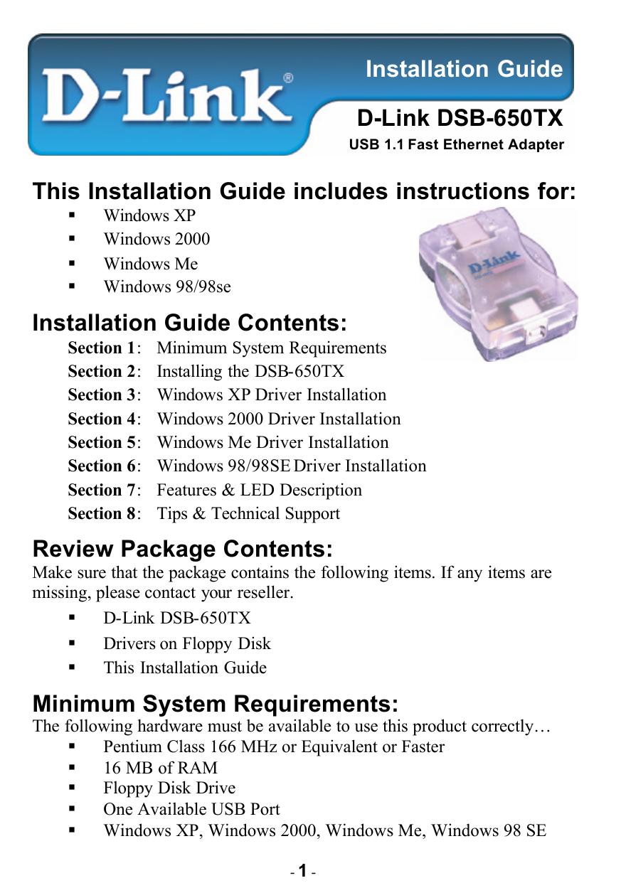 Installation Guide Contents   manualzz com