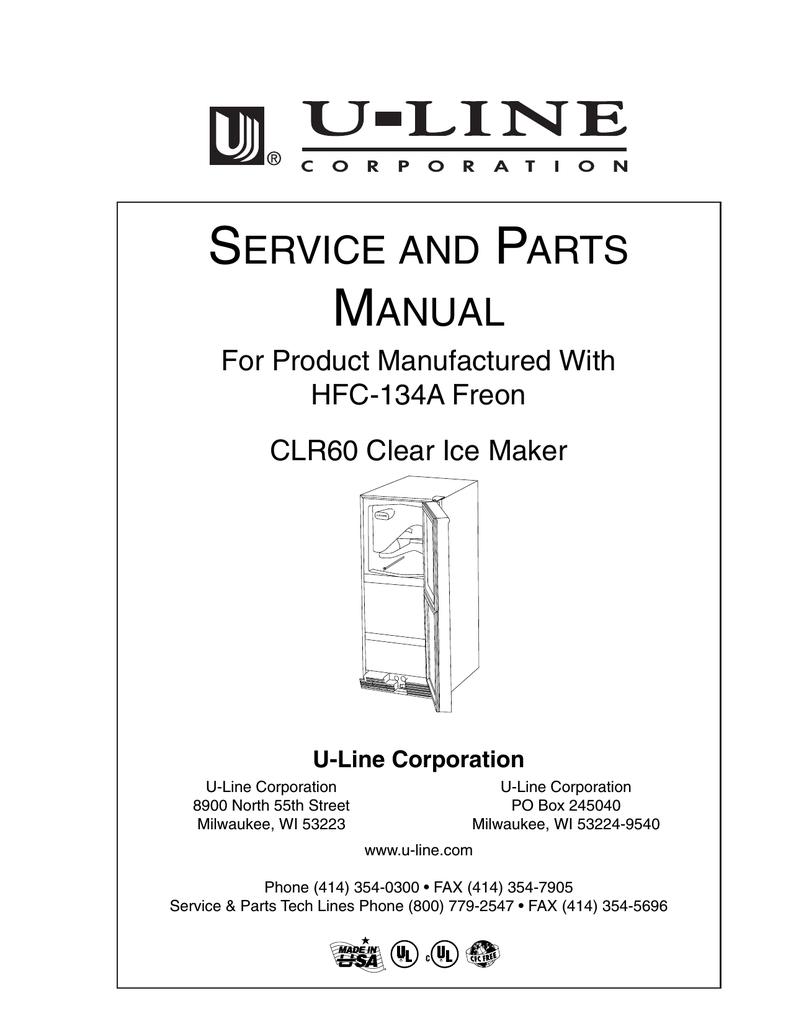 U-Line CLR60 Service manual   manualzz.com on