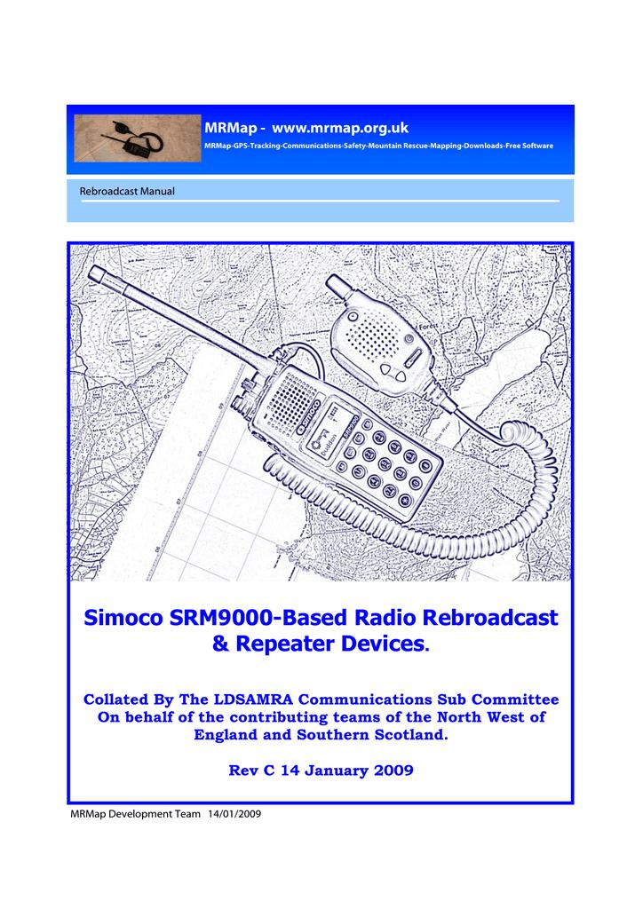 Simoco SRM9000-Based Radio Rebroadcast & Repeater Devices