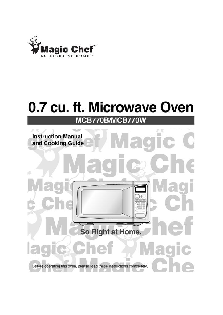 Magic Chef MCB770W Instruction manual   manualzz.com on