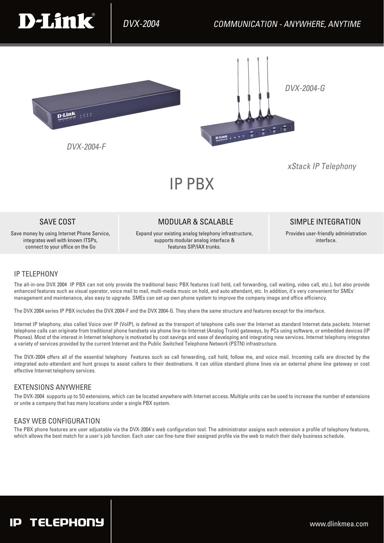 IP PBX - D-Link | manualzz com