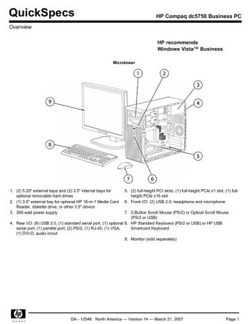 eledenimport.com PC2-5300 RAM Memory Upgrade for The Compaq HP ...
