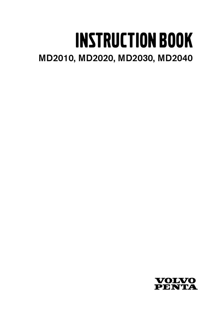 Volvo Md2020 Instruction Manual Manualzz Com