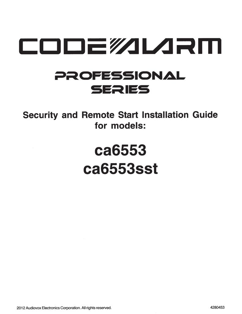 Viper Security Remote Start Manual Manual Guide