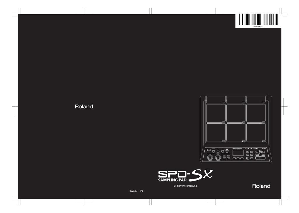 SPD-SX Bedienungsanleitung | manualzz.com