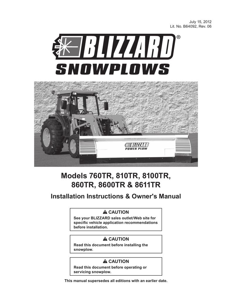 Blizzard Snow Plow Wiring Harness