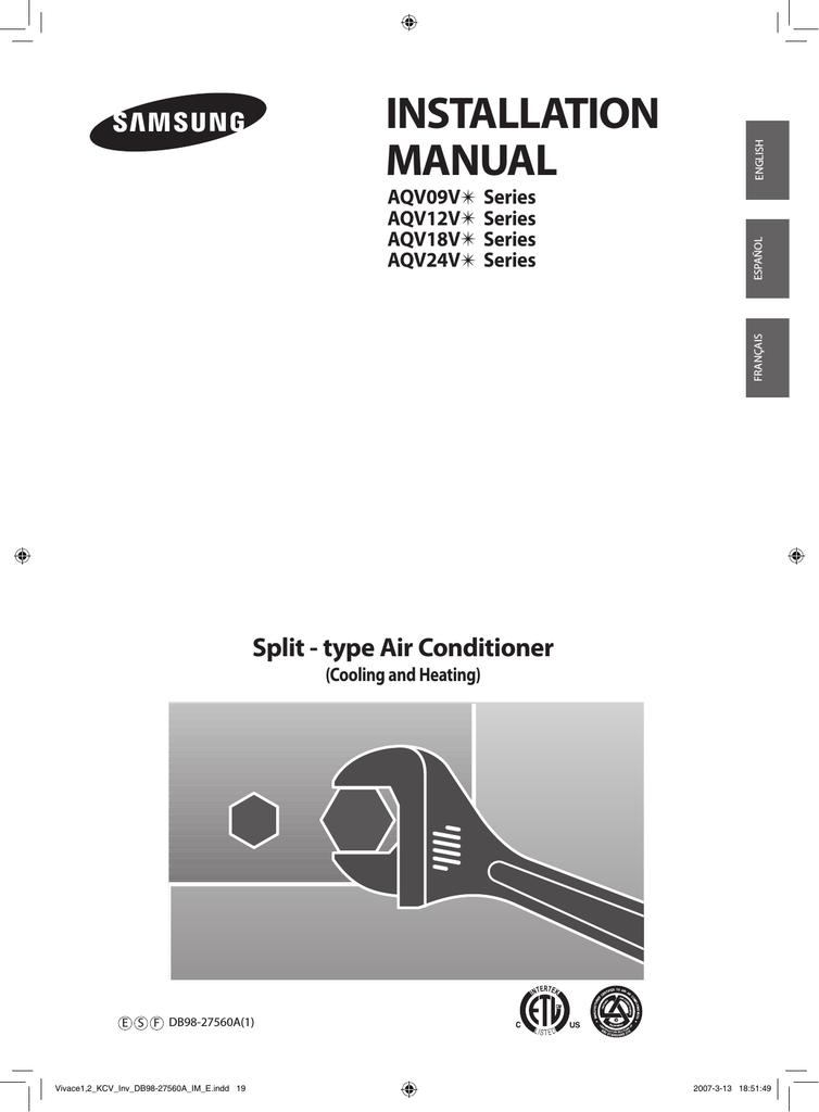 Quietside QSCC-183 Installation manual   manualzz com