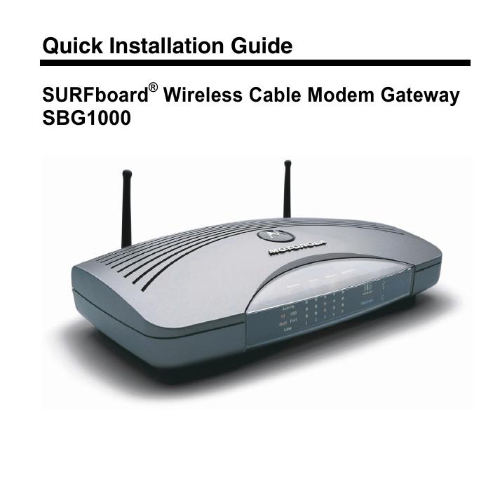 driver sbg900 wireless surfboard gateway